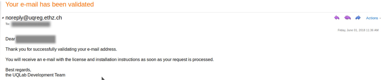 validatedEmail